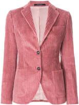 Tagliatore fitted corduroy blazer