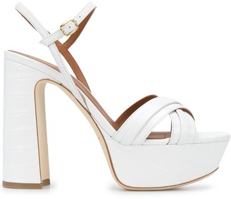 Malone Souliers Mila 130mm strappy sandals
