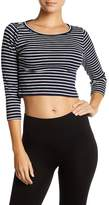 J.Crew J. Crew Striped Crop Top