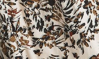 Reiss Bobby Floral Long Sleeve Dress