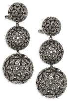Adriana Orsini Anise Crystal Ball Drop Earrings