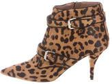 Tabitha Simmons Ponyhair Ankle Boots