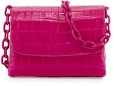 Nancy Gonzalez Crocodile Triple-Gusset Mini Crossbody Bag