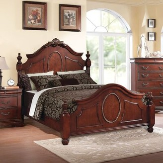 Astoria Grand Eisenhauer Four Poster Bed Size: King