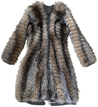 Marni Beige Fur Coat for Women