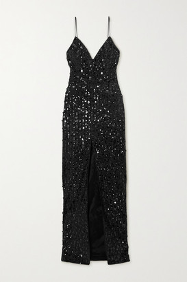 Rasario Sequin-embellished Tulle Gown - Black