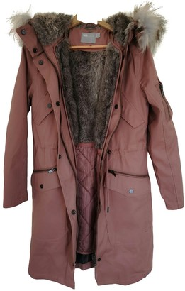 Asos Pink Cotton Coat for Women
