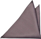 Notch Men's Silk Pocket Square - FARIS - Dot pattern in and black