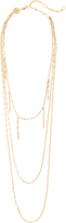 Jennifer Zeuner Jewelry Triple Layered Necklace