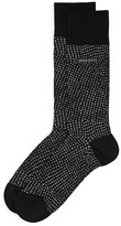 HUGO BOSS RS Design Mecerized Cotton Socks