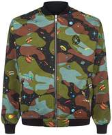 Billionaire Boys Club Reversible Bomber Jacket