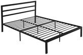 Gdfstudio Euro Modern Iron Queen Bed Frame