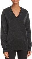 Equipment Lucinda Sparkle V-Neck Sweater