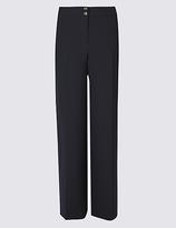 Per Una Double Button Wide Leg Trousers