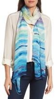 Nordstrom Women's Paradise Stripe Silk Scarf