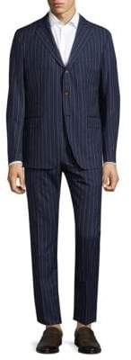 Eleventy Notch Lapel Handmade Suit