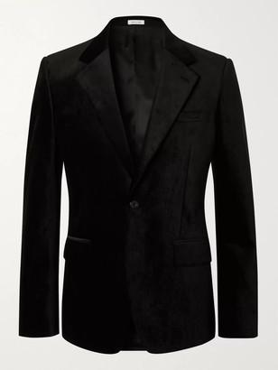 Alexander McQueen Slim-Fit Velvet Blazer