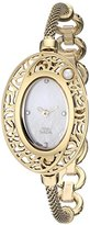 Titan Women's 9973YM02 Raga Pearl Analog Display Quartz Gold Watch