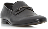 Dune Pistol Loafers, Black