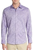Robert Graham Classic-Fit Avoch Cotton Sportshirt