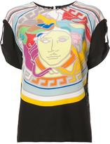 Versace Pop Medusa blouse