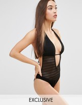 Wolfwhistle Wolf & Whistle Crochet Swimsuit B/C - E/F Cup
