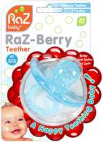 Razbaby RaZ-Berry/Multi-Texture Design/Hands Free Design Silicone Teether