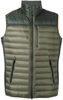 Parajumpers banded neck gilet - men - Polyamide/Polyester/Feather Down - L