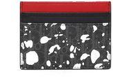Christian Dior Darklight Speckle Canvas Cardholder