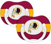 Baby Fanatic NFL Pacifiers Safe BPA Free (Washington Redskins)
