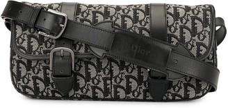 Christian Dior pre-owned Trotter pattern shoulder bag