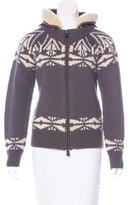 Moncler Maglione Wool Cardigan