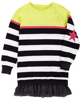 Petit Lem Girls 2-6x Magical Mischief Striped Dress