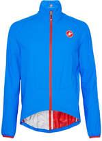 Castelli Riparo Water-resistant Nylon-ripstop Cycling Jacket - Bright blue