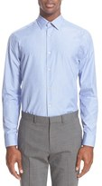 Paul Smith Men's Trim Fit Texture Weave Dress Shirt