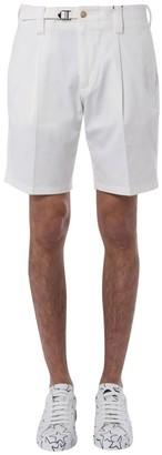 Dolce & Gabbana Buckled Bermuda Shorts