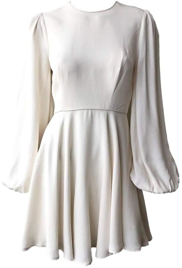 Zimmermann Blouson Mini Dress