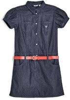 GUESS Polka Dot Denim Dress (7-16)