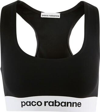 Paco Rabanne Jersey bra top