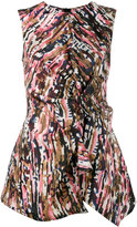 Marni sleeveless Haze print top - women - Silk - 40