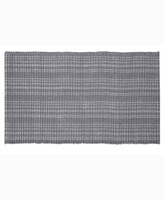 """Thumbnail for your product : Home Weavers Woolen Silk Rib 24"""" x 36"""" Accent Rug Bedding"""