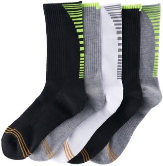 Gold Toe Boys GOLDTOE 5-pack Ultra Tec Crew Socks