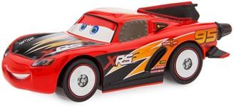 Disney Lightning McQueen Rocket Racer Pull 'N' Race Die Cast Car Cars