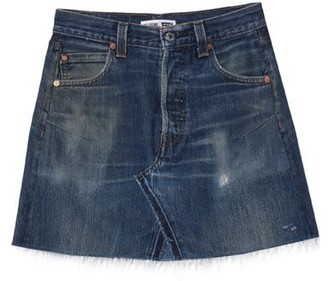 RE/DONE with LEVI'S Denim skirt