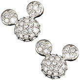 Disney Mickey Mouse Icon Earrings by Arribas - Domed