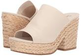 Splendid Theodore (Cream Soft Waxy Leather) Women's Clog/Mule Shoes