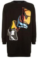 Christopher Kane Crash Hologram Sweatshirt