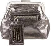 Dolce & Gabbana Metallic Leather Wallet