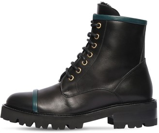 Malone Souliers 30mm Bryce Leather Combat Boots