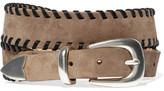 Rag & Bone Mckenzie Whipstitched Nubuck Belt